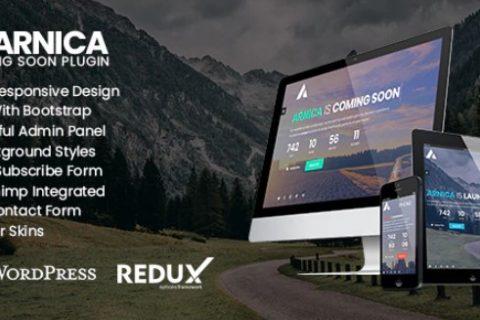 Arnica v1.0.2 –即将推出的创意WordPress插件