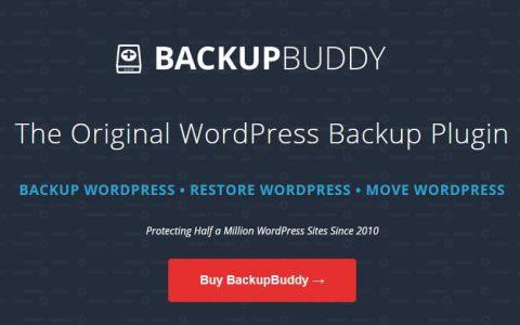 BackupBuddy v8.5.2.0 –备份,还原和移动WordPress插件
