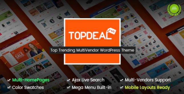TopDeal-多供应商市场WordPress主题