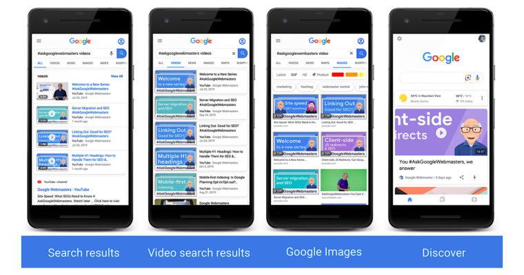Google提供有關最新視頻結構化數據功能的新信息