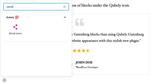 Qubely:古腾堡的自定义块和现成元素增强