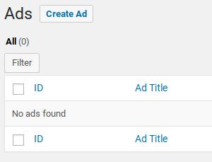 AdSanity评论-添加新广告