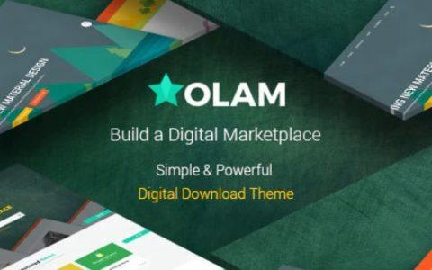 Olam v4.4.7 –简易数字下载市场WordPress主题