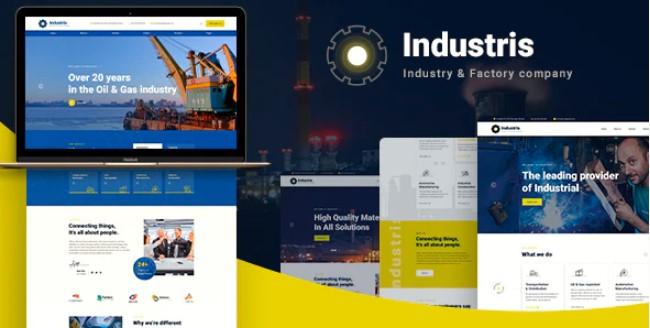 Industris-工厂和企业WordPress主题
