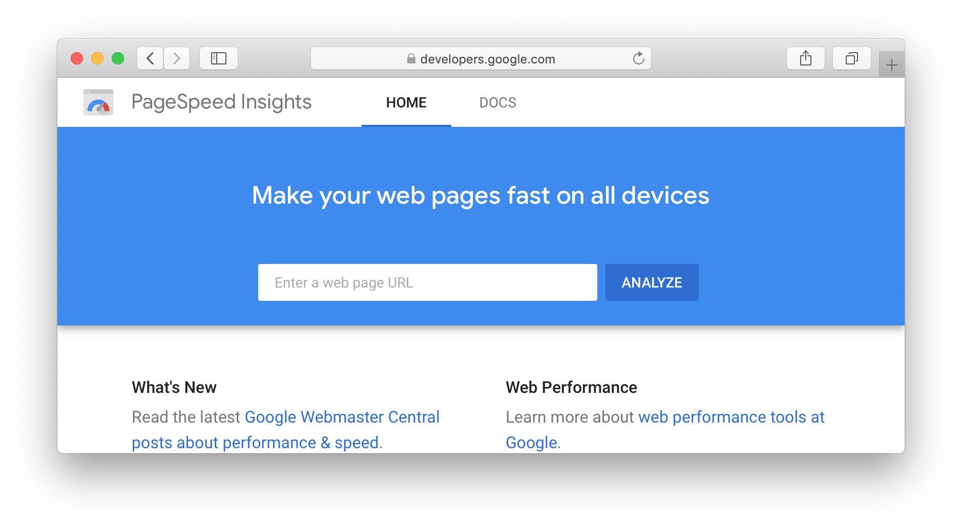 PageSpeed Insights,GTmetrix,Pingdom工具,WebPageTest