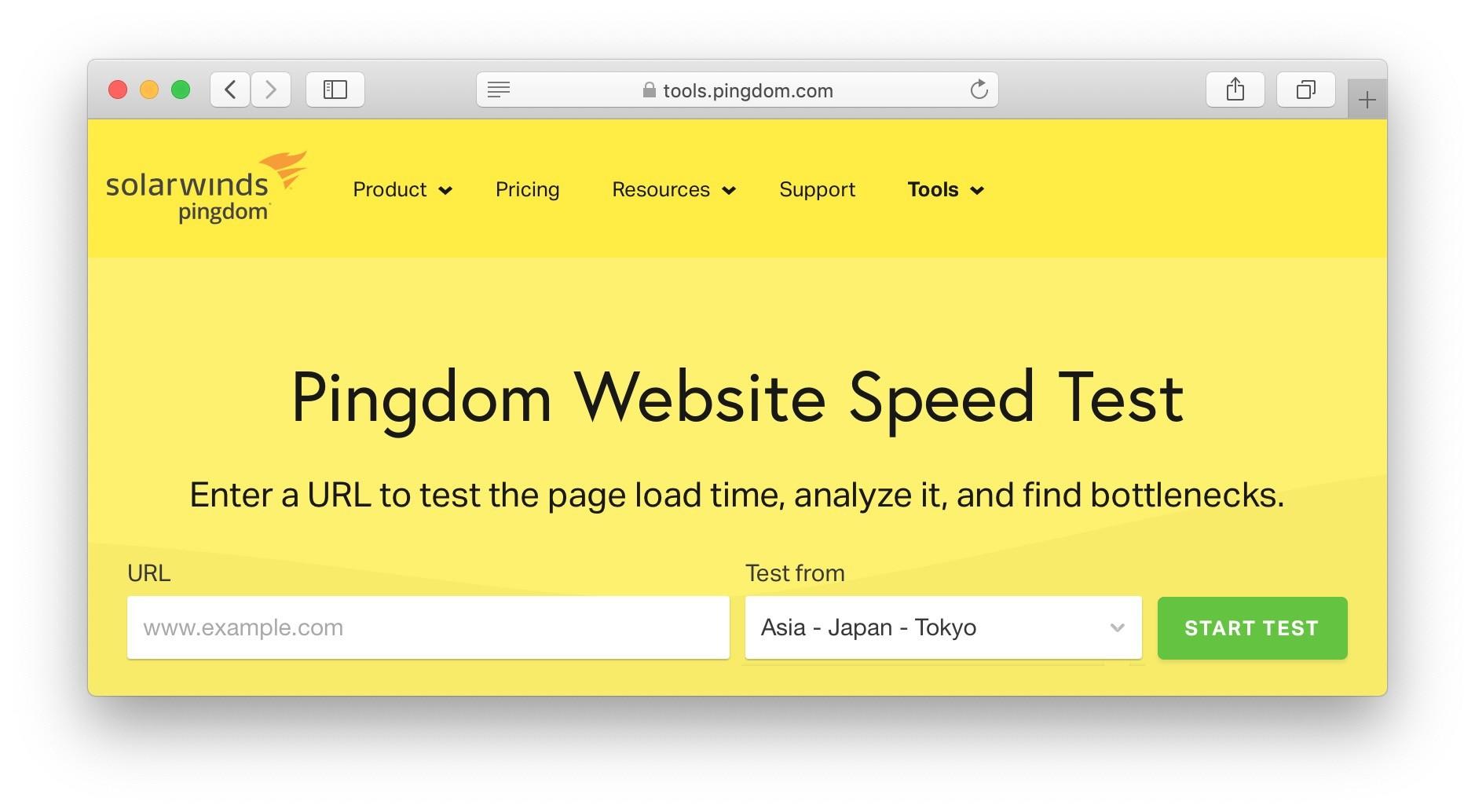 Pingdom工具,PageSpeed Insights,GTmetrix,WebPageTest