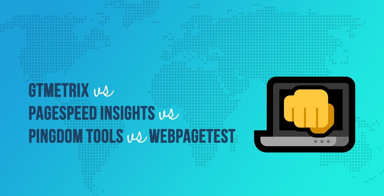 GTmetrix,PageSpeed Insights,Pingdom工具,WebPageTest