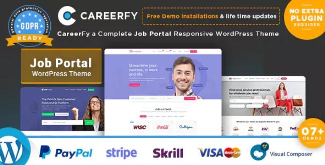 Careerfy-Job Board WordPress主题