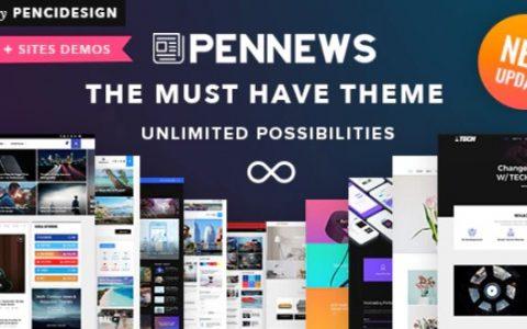 PenNews v6.5.7 –响应式多功能AMP WordPress主题