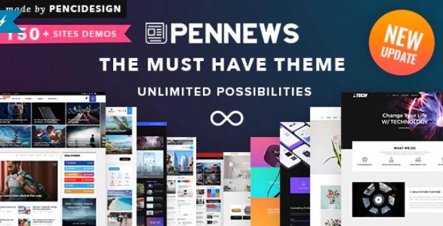 PenNews WordPress主題