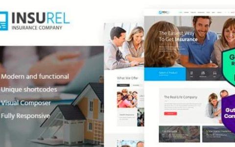 InsuRel v1.6.2 –保险和金融WordPress主题