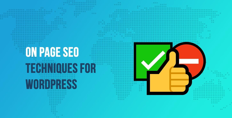 WordPress的页面SEO技术