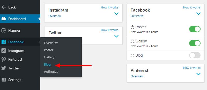Facebook博客工具