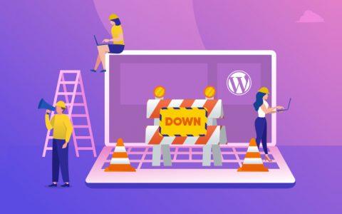 WordPress网站关闭时进行6项检查