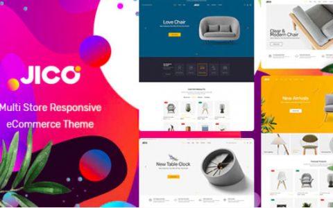 Jico v1.0.1 –家具和家居装饰WooCommerce WordPress主题