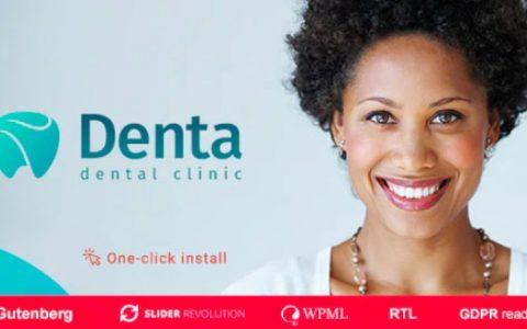 Denta v1.0.6 –響應式牙科診所WordPress主題