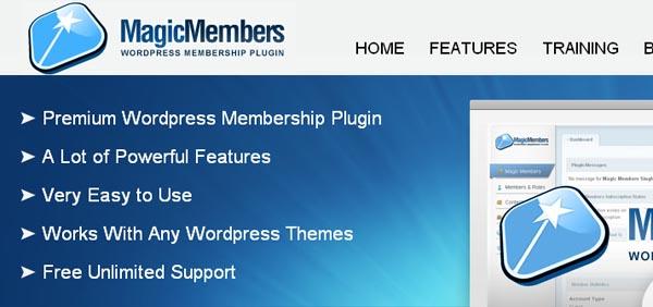 MagicMembers wordpress插件