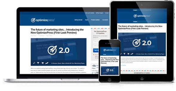 OptimizePress 2会员插件WordPress