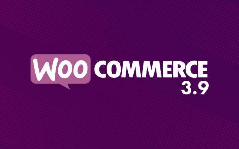 WooCommerce 3.9的新功能