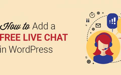 WordPress实时聊天:如何免费设置(逐步)
