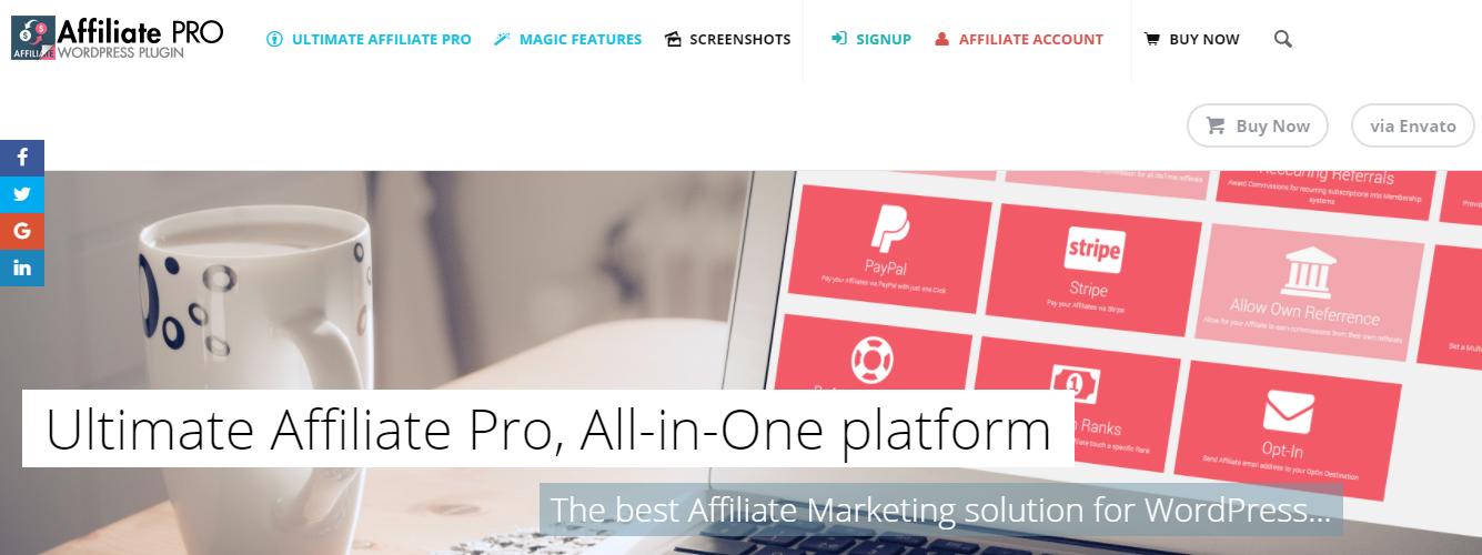 Ultimate Affiliate Pro WordPress插件