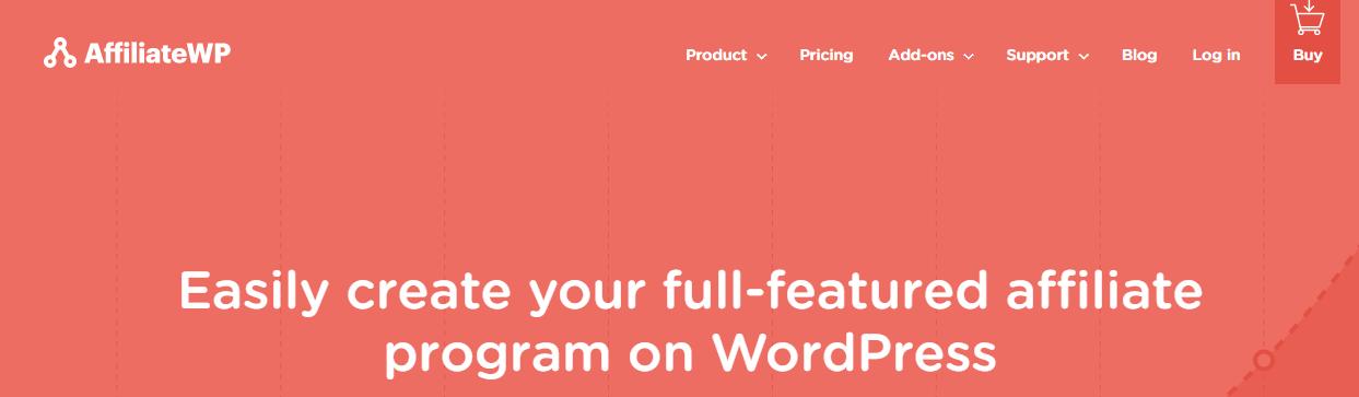 AffiliateWP最佳Wordpress会员插件