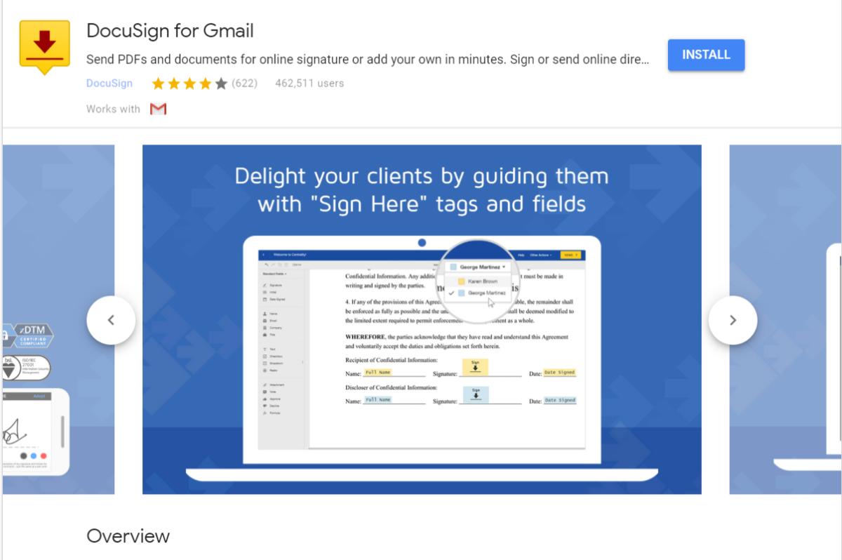 gmail的docusign 1