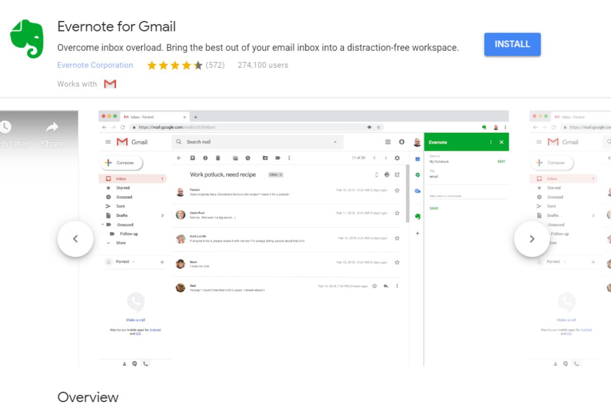 gmail 1的evernote