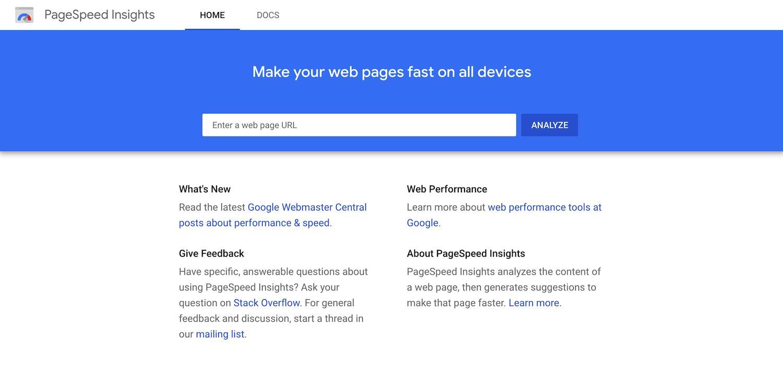 Google Pagespeed见解