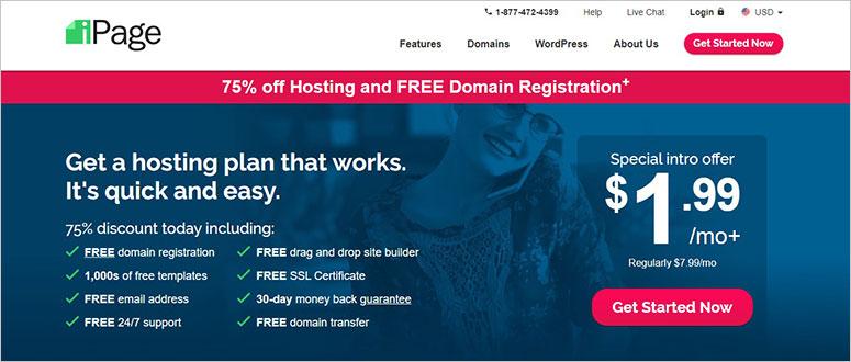 iPage虚拟主机,免费SSL