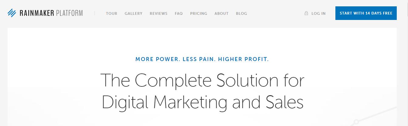 WordPress的RainMaker Platform会员插件