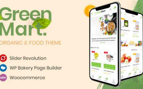GreenMart v2.3.8 –有机食品WooCommerce WordPress主题