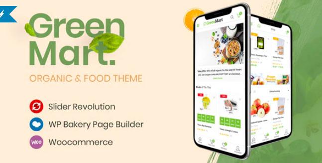 GreenMart主题