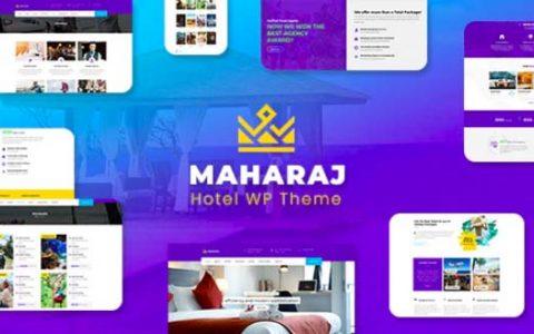 Maharaj v1.9 –响应式酒店主WordPress主题