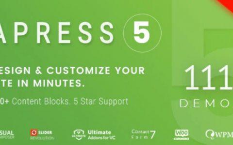 Apress v5.1.1 –响应式多用途WordPress主题