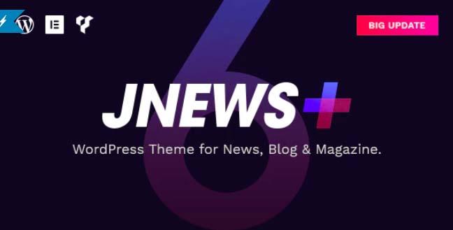 JNews-WordPress报纸杂志博客AMP主题
