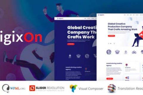 Digixon v1.5 –数字营销策略咨询WP主题