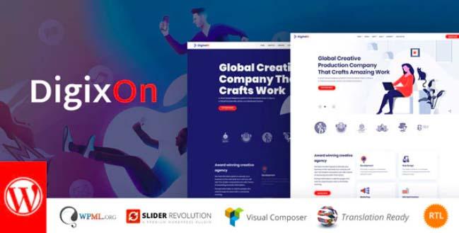 Digixon-数字营销策略咨询WP主题