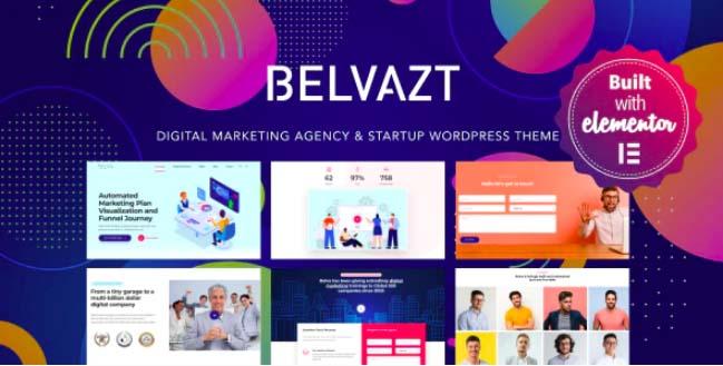Belvazt-数字营销机构WordPress主题