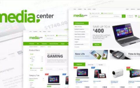 MediaCenter v2.7.13 –电子商店WooCommerce主题