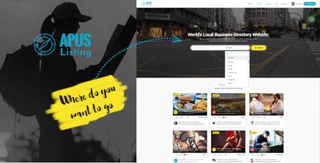 ApusListing-目录和列表WordPress主题