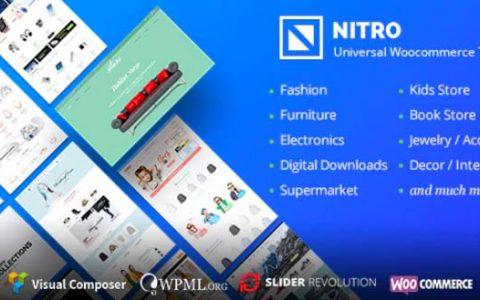 Nitro v1.7.6 –通用WooCommerce WordPress主題
