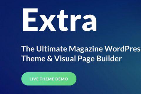 Extra v4.4.1 – Ultimate Magazine WordPress主题