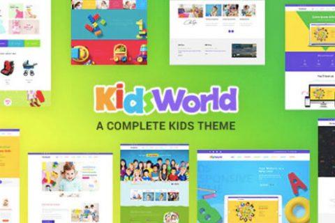 Kids Heaven v2.0 –响应儿童WordPress主题