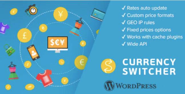 WordPress货币切换器