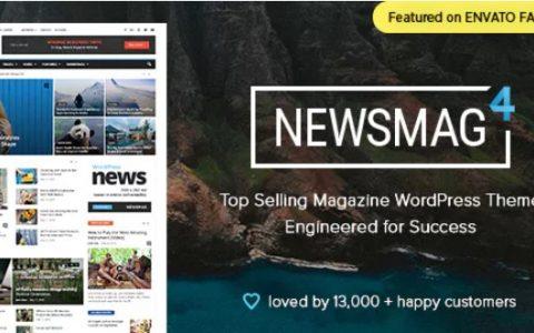 Newsmag v4.9.3 –报纸和杂志WordPress主题