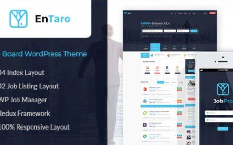 Entaro v3.9 –响应式工作门户WordPress主题