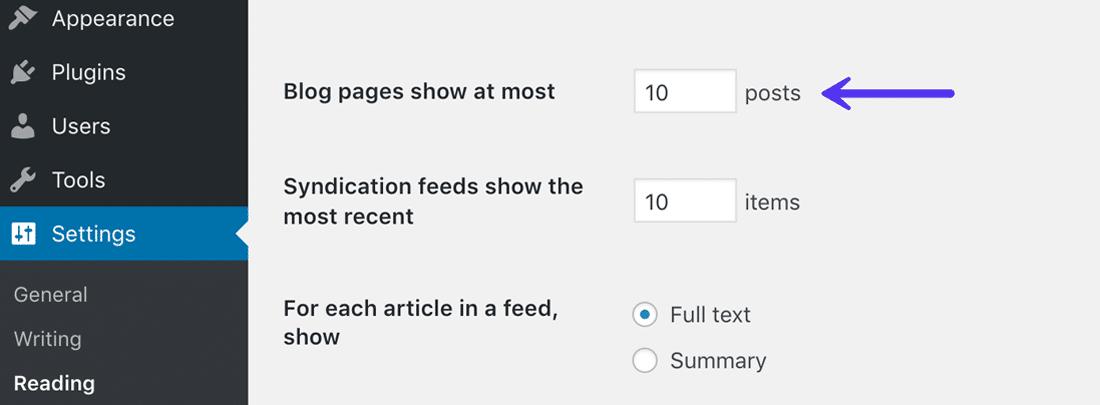 WordPress设置以限制发布修订的数量