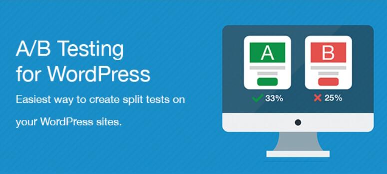 WordPress的A / B测试