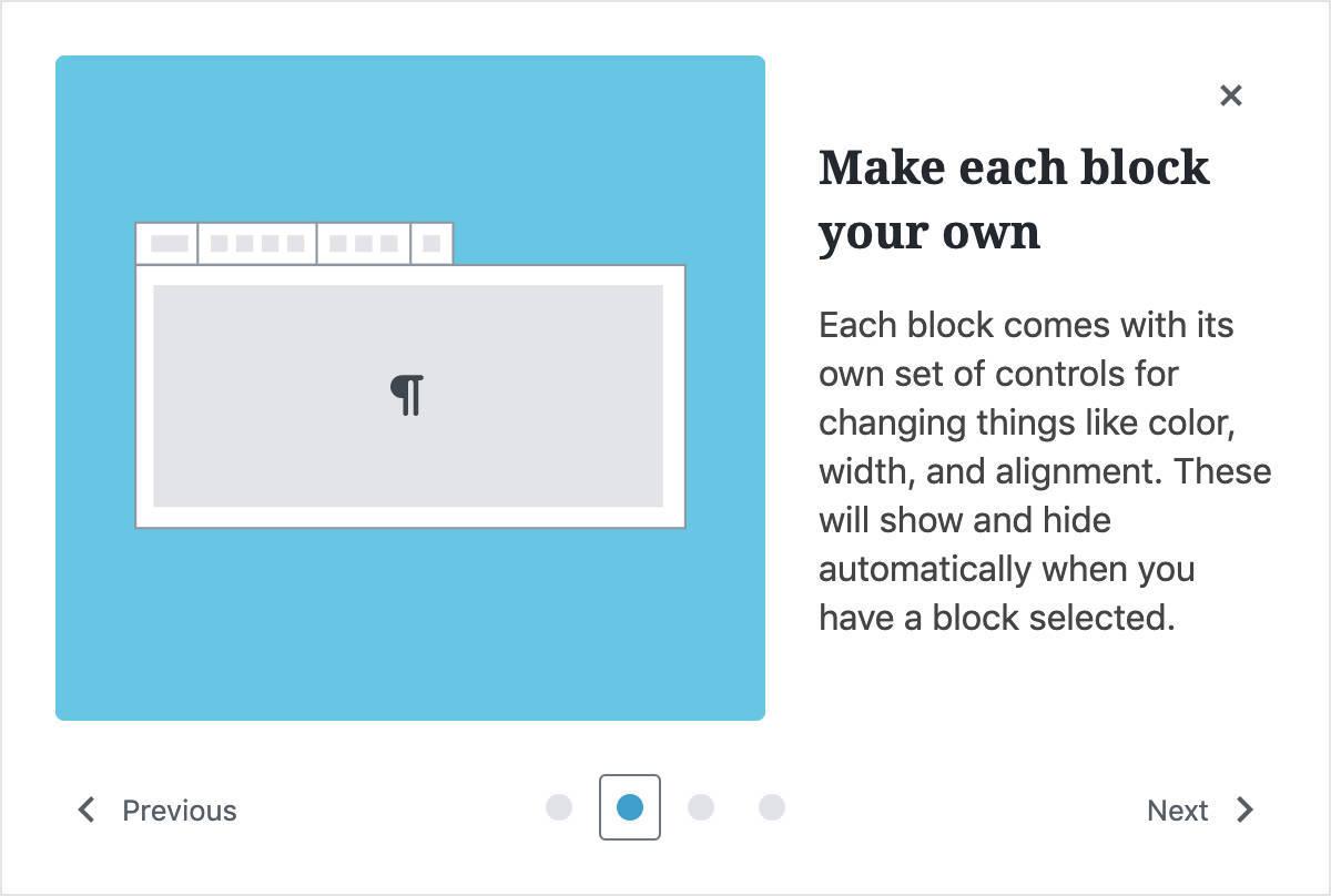 WordPress 5.4:欢迎模式
